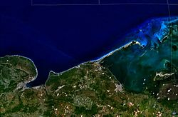 Matanzas und Varadero NASA World Wind Globe.jpg