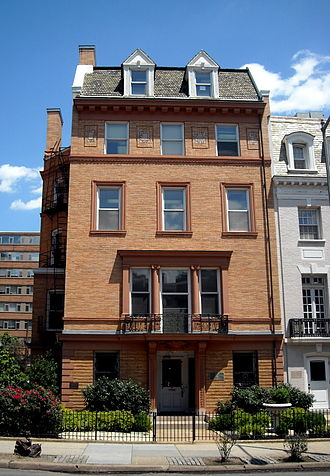 Carlos Manuel de Céspedes y Quesada - Former Cuban embassy and residence of Carlos Manuel de Céspedes y Quesada in Washington, D.C.