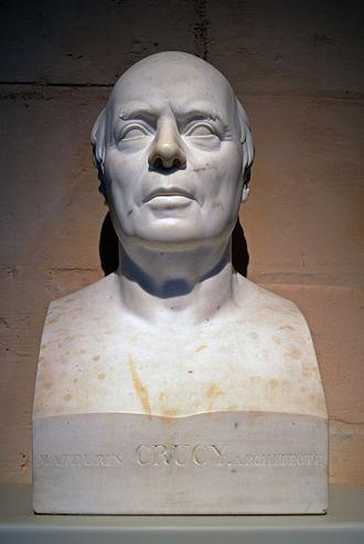 Mathurin Crucy - Bust by Jean de Bay, fils