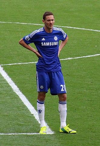 Nemanja Matić - Matić playing for Chelsea in 2014