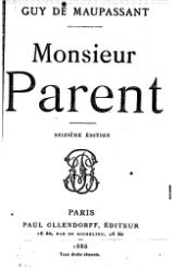 Maupassant - Monsieur Parent.djvu