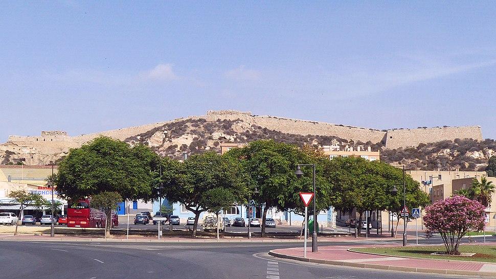 Maurische Wehranlage Castillo de los Moros 1773-1778 in Cartagena Región de Murcia Spanien Foto Wolfgang Pehlemann P1200165