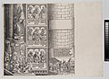 Maximilian as Architect; with a Statue of St. Leopold; and Busts of Maximilian's Ancestors and Relatives, from The Triumphal Arch of Maximilian I, 1st edition (1517-18) MET DP-16116-037.jpg