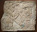 Maya stone lintel, Usamacita Valley, Yaxchilan, Dayton Art Institute.JPG