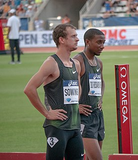 Erik Sowinski American athlete