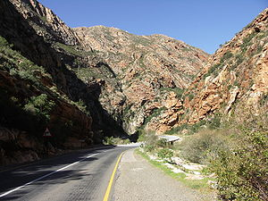 N12 road (South Africa) - Image: Meiringspoort 001