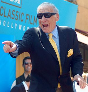 Mel Brooks - Brooks at his Hollywood Walk of Fame ceremony, April 2010