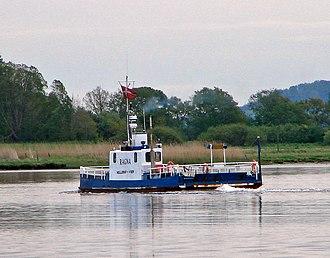 Randers Fjord - Mellerup-Voer ferry, M/F Ragna