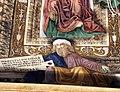 Melozzo da forlì, angeli coi simboli della passione e profeti, 1477 ca., profeta baruc.jpg