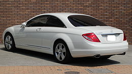 Mercedes-Benz CL550 rear Tx-re.jpg