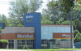 Meridian Credit Union - Meridian Credit Union branch in Barrie, Ontario