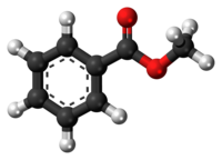 Methyl benzoate molecule ball.png