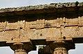 Metope - Temple of Poseidon - Paestum - Italy 2015.JPG