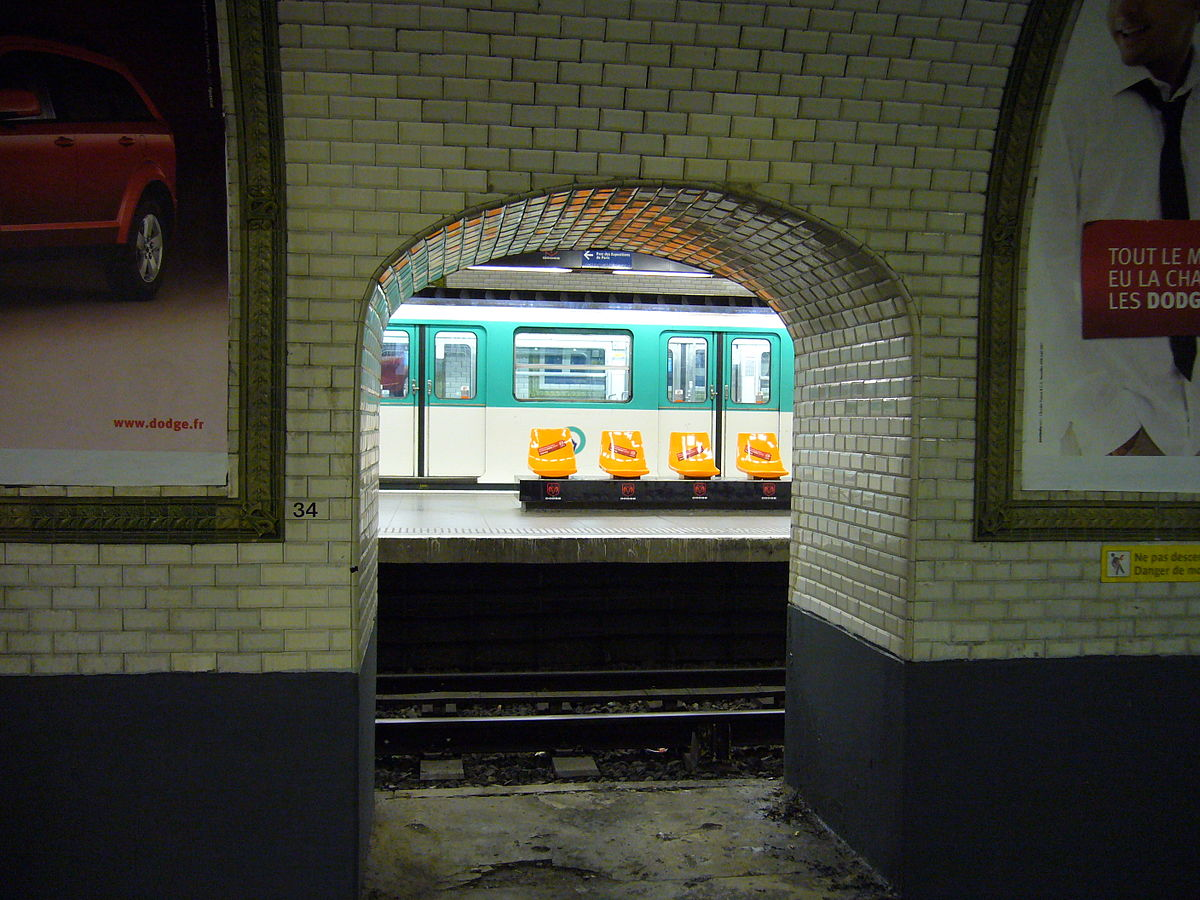 Porte de versailles m tro paris wikipedia - Porte de versailles metro ...
