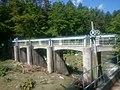 Mezica, dam of the former power plant Pustnik 01.jpg