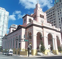 Miami FL Downtown HD Gesu Church sq pano01.jpg
