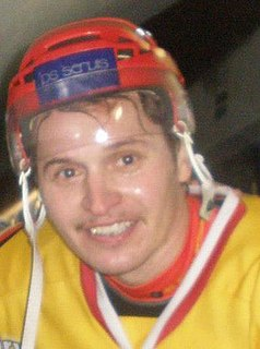 Michal Hreus Slovak ice hockey player
