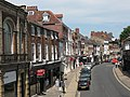 Micklegate, York from the city walls - geograph.org.uk - 1413605.jpg