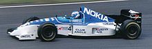 Photo de Mika Salo sur Tyrrell 023