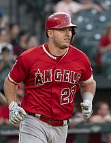 Picture of Los Angeles Angels outfielder Mike Trout