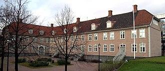 Selskabet for Oslo Byes Vel - Headquarters at Grev Wedels plass.