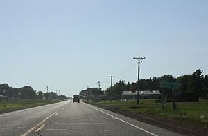 Milladore Wisconsin Sign Looking West US10.jpg