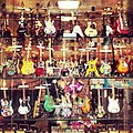 Miniature guitar models, Leadenhall Market, London, 2012.jpg