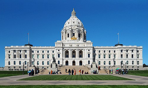 Minnesota State Capitol 2017.