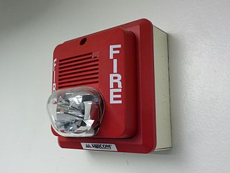 Fire alarm notification appliance - US horn for fire detection system