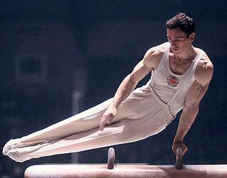 Miroslav Cerar gymnast