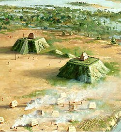 Mississippian Village with two mound plazas.jpg