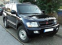 Mitsubishi Pajero front.jpg