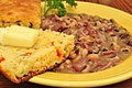 Mmm... black eyed peas with smoked hocks and corn bread (7046315845) (2).jpg