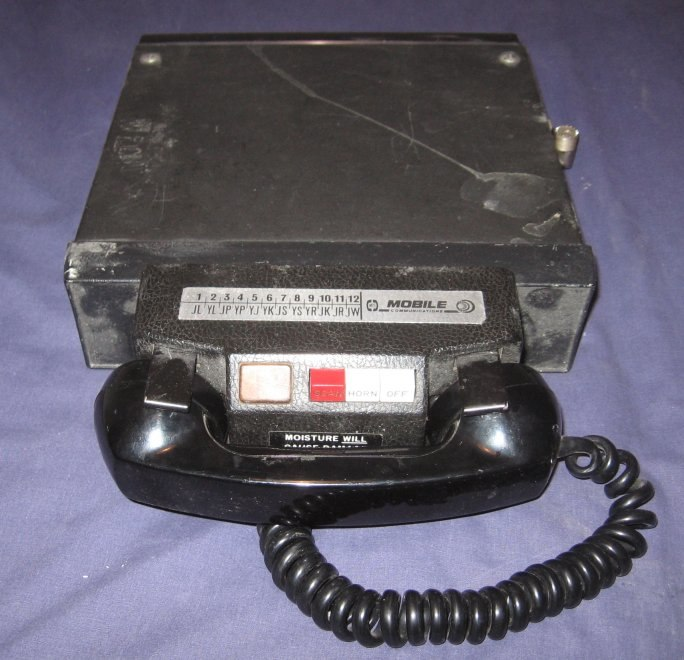 Mobile radio telephone