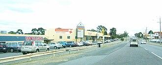 Modbury, South Australia - Shopping precinct in Modbury