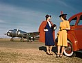 Models with Oldsmobile Automobile, Lockheed 10B Electra, Delta Air Lines (8595048001).jpg