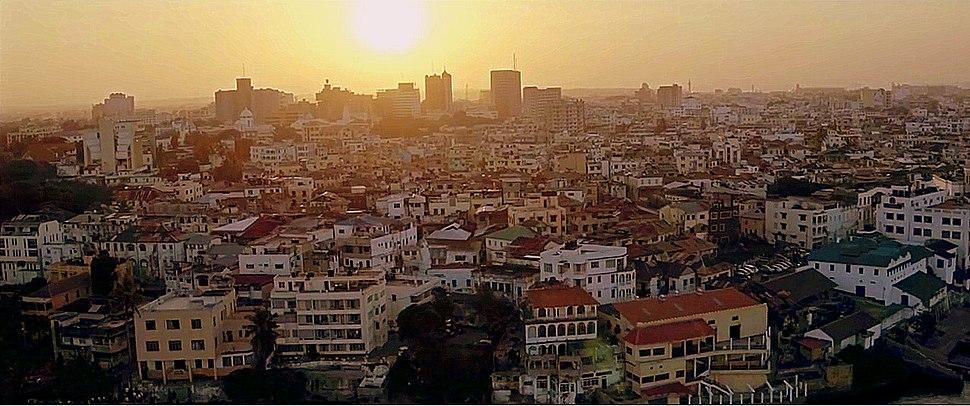 Mombasa skyline