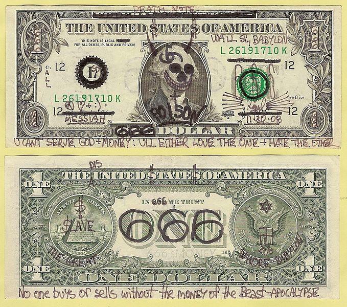File:Money of the Beast 666 Dollar Graffiti.jpg