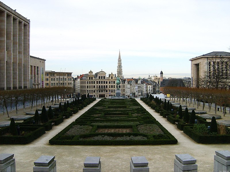 Lugares de interesse em Bruxelas