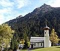 Montafon 075 Gargellen Kuratiekirche St Maria Magdalena (fcm).jpg
