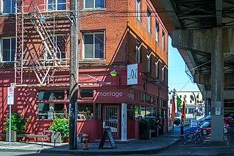 Le Bistro Montage - The restaurant under the Morrison Bridge