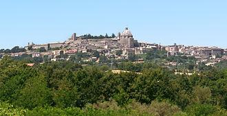 Montefiascone - Image: Montefiascone panorama