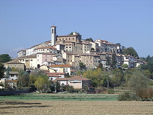 Monterchi - Image: Monterchi 1 Panorama
