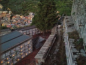 Monterosso al Mare - The cemetery within the convent