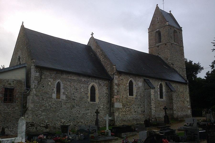 Église Notre-Dame de fr:Montreuil-sur-Lozon