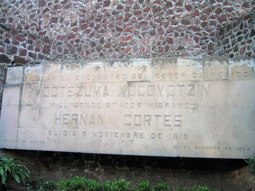 Monumento de Moctezuma y Hernan Cortés (mod)