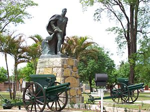 Goya, Argentina - San Martín Plaza