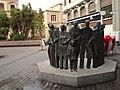 Monumento por los Derechos Humanos, Plaza de Santo Domingo (Murcia).jpg