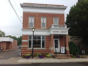 National Register of Historic Places listings in Sanilac County, Michigan - Image: Moore Public Library
