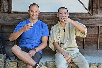 The Travel Bug - The Travel Bug presenter Morgan Burrett in Japan